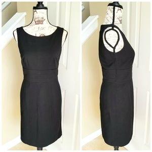 EUC black sheath dress